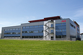 Щека, Сграда, производство