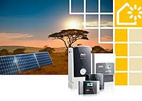 PV Off Grid, Solar charge controller, Sine wave inverter
