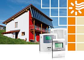 Solarthermie, Wasser, Heizung, Solarregler, Frischwassertechnik, warm