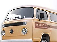 VW-Bus, Steca; Geschichte, Historie, Gründung, Firma