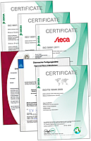 Steca, Certificate, ISO 9001, ISO 14001, ISO 50001, TS 16949