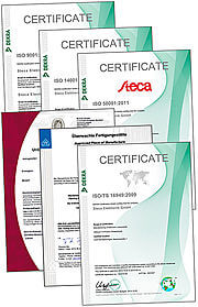 Steca Zertifikate 640px web