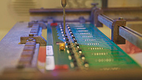 Processes Electronics Manufacturing Service Provider, Lacquering