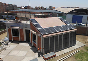 Solartechnik, ref_pv, Photovoltaics,  Peru, Tacna, Roof-mounted system, 3,3kWp