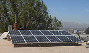 Solartechnik, ref_pv, Photovoltaics,  Peru, Arequipa, Roof-mounted system, 3,3kWp