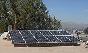 Solartechnik, ref_pv, Photovoltaïque,  Pérou, Arequipa, Installation sur toiture, 3,3kWp