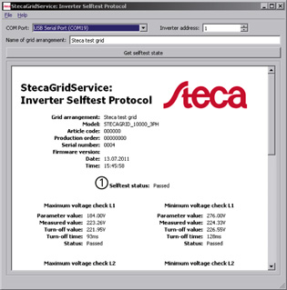 StecaGrid Service Inverter Selftest Protocol1 315px