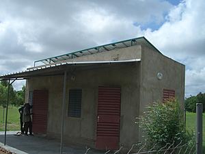 Solarelektronik, PV off grid, Nachtlicht-System, Dachanlage, Burkina Faso