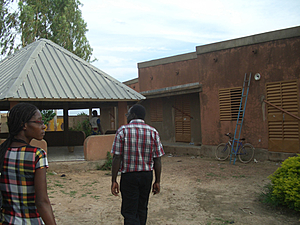 Solarelektronik, PV off grid, Solar-Home-System, Dachanlage, Burkina Faso