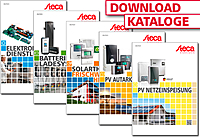 PV, Netzeinspeisung, Autarke Systeme, Solarthermie, Elektronikdienstleistung, Batterie-Ladesysteme, Katalog
