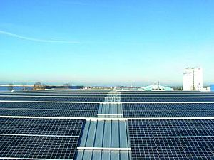 Solartechnik, ref_pv, Photovoltaics, Germany, memmingen, Roof-mounted system, 323 kWp