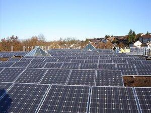 Solartechnik, ref_pv, Photovoltaik, Deutschland, ditzingen, Flachdachanlage,205 kWp