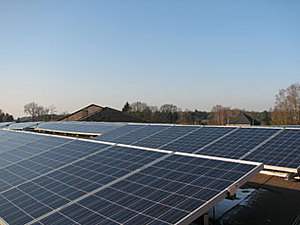 Solartechnik, ref_pv, Photovoltaics, Belgium, houthalen, Flat roof mounted system,101,25 kWp