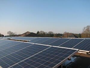 Solartechnik, ref_pv, Photovoltaik, Belgien, houthalen, Flachdachanlage,101,25 kWp