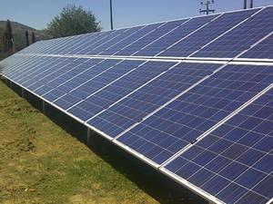 Solartechnik, ref_pv, Photovoltaics, Greece, tripolis, Ground-mounted installation, 3x100 kWp