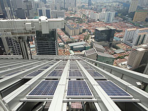 Solartechnik, ref_pv,Photovoltaics, Singapore , Roof-mounted system 84 kWp