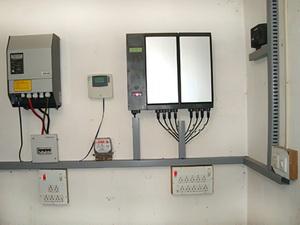Solarelektronik, PV Autarke Systeme, Hybrid Systeme,Asien, Indien, Verschaltung