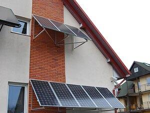 Solarelektronik, PV Autarke Systeme, Hybrid Systeme, Europa, Polen, Wandmontage