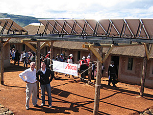 Solarelektronik, PV Autarke Systeme, Wechselrichtersystem, Südafrika, Urbanisation, Freifläche