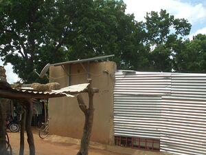 Solarelektronik, PV Autarke Systeme, Solar Home System, Aufdachanlage, Afrika