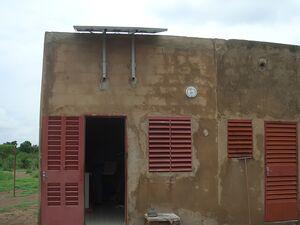 Solarelektronik, PV Autarke Systeme, Solar Home Systeme, Aufdachanlage, Afrika