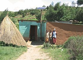 Solar-Home-System, Solarladeregler, Stromversorgung, autark, Südafrika