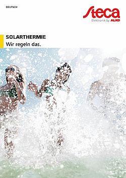 Katalog Solarthermie DE Deckblatt