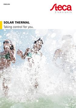 Katalog Solarthermie EN Deckblatt