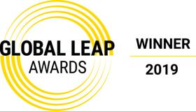 global leap award gold logo