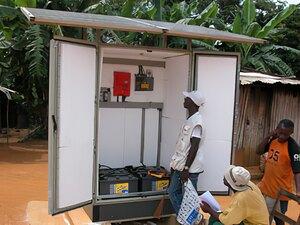 Solarelektronik, PV Autarke Systeme, Wechselrichersystem, Afrika, Gabun