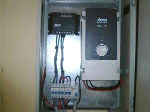 Solarelektronik, PV Autarke Systeme, Wechselrichersystem, Afrika, Algerien, Steca Solarladeregler, Steca Wechselrichter