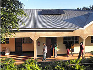 Solar electronics, PV off grid, inverter system, roof mounted system, Africa, Tanzania