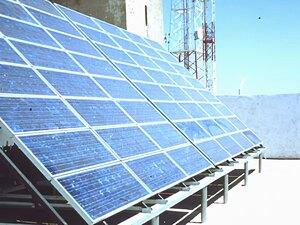 Solarelektronik, PV Autarke Systeme, Telekommunikations-Systeme,Afrika, Marokko, Freifläche