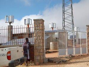 Solarelektronik, PV Autarke Systeme, Telekommunikations-Systeme,Afrika, Madagaskar