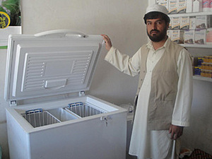 Solar electronics, PV off grid, hospital, Asia, Afghanistan