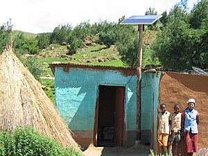 Solar electronics, PV off grid, Solar-Home-system, Africa, Southafrica, farm