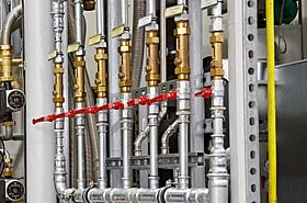 Frischwasserlabor, Steca, Hydraulisch, Harfe, Zapfmengenregulierung