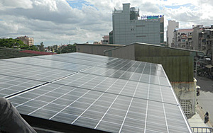 Solartechnik, ref_pv, Photovoltaik,  enum_kambotscha, Phnom Penh, Aufdachanlage, 4,2 kWp
