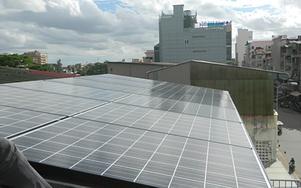 Solartechnik, ref_pv, Photovoltaics,  enum_kambotscha, Phnom Penh, Roof-mounted system, 4,2 kWp