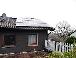 Solartechnik, ref_pv, Photovoltaics,  Germany, Bad Honnef, One-family house, Roof-mounted system, 3,2 kWp, Steca coolcept 3010