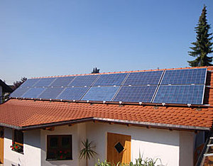 Solartechnik, ref_pv, Photovoltaics,  Germany, Heimertingen, One-family house, Roof-mounted system, 3,08 kWp