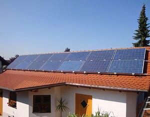 Solartechnik, ref_pv, Photovoltaics,  Germany, Heimertingen, One-family house, Roof-mounted system, 3,08 kWp