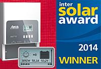 Steca Tarom MPPT 6000-M, Intersolar Award, Winner