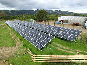 Solartechnik, ref_pv, Photovoltaics, New Zealand, Drury, Ground-mounted installation, 68kWp