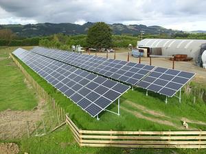 Solartechnik, ref_pv, Photovoltaics, New Zealand, Drury, Ground-mounted installation, 68kWp