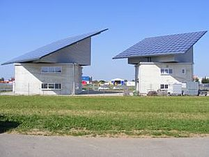 Solartechnik, ref_pv, Photovoltaics, Germany, Memmingen, Roof-mounted system, 78kWp