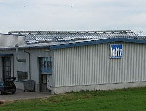 Solartechnik, ref_pv, Photovoltaics, Germany, Memmingen, Roof-mounted system, 55kWp