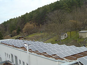 Solartechnik, ref_pv, Photovoltaics, Germany, Weissach, Flat roof mounted system, 39,96kWp