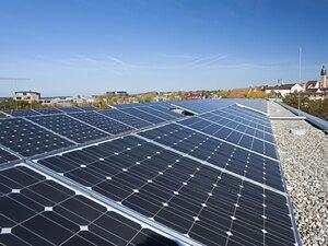 Solartechnik, ref_pv, Photovoltaik, Deutschland, Böblingen, Flachdachanlage, 39,78kWp