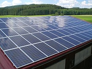 Solartechnik, ref_pv, Photovoltaics, Germany, Oberbinnwang, Roof-mounted system, 31,7 kWp